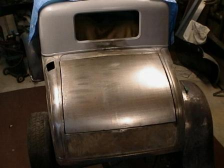 1930 Ford Hotrod Trunk Lid Construction